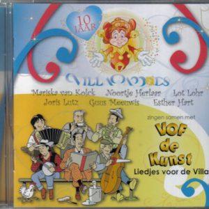 V.O.F. de kunst - liedjes voor de villa (10 jaar villa pardoes)