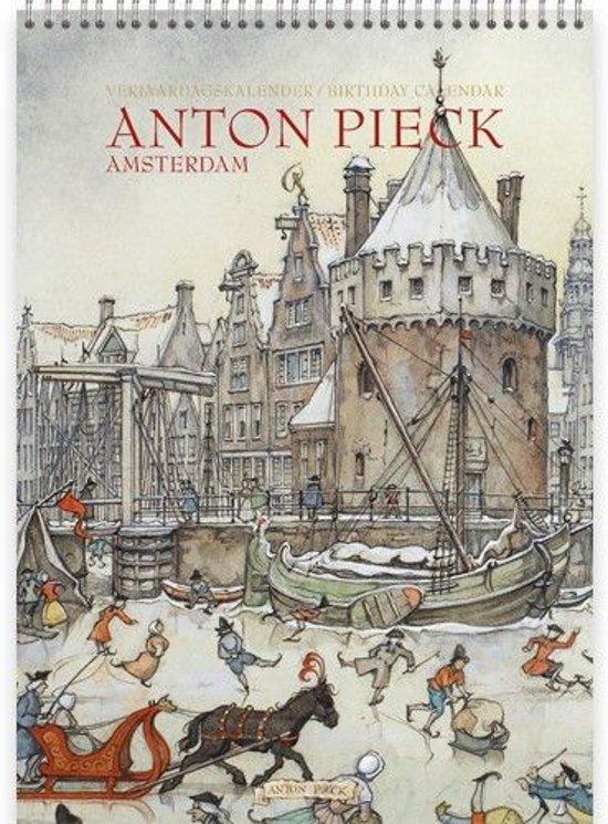 Anton Pieck Amsterdam Verjaardagskalender