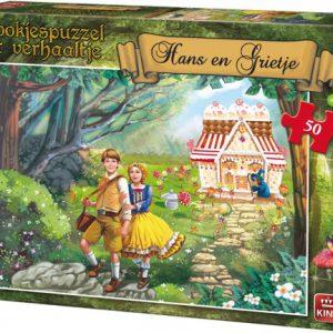 Efteling Sprookjes Hans en Grietje Puzzle 50 stukjes