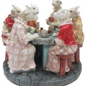 Efteling Luville Miniaturen 7 geitjes rond de tafel 2016