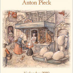 Anton Pieck Kalender Groot 'Broodbakkerij' 2019