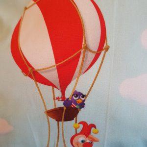 Sierkussen Jokie en Jet Hete Luchtballon Mind Groen