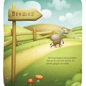 De Bremer stadsmuzikanten - Een Efteling gouden boekje 10