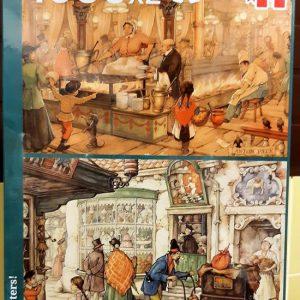 Puzzel Anton Pieck 2 x 1000 stukjes De Patissier en De Poffertjeskraam