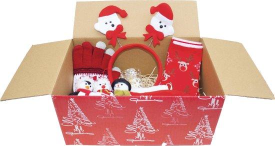 Kerst cadeau pakket - Kerst gift set – Kerst handschoenen, muts, kaarsen en meer incl. verrassing!