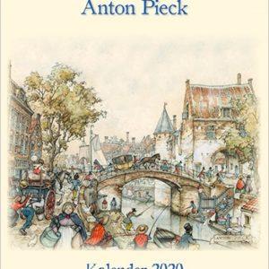 Kalender 2020 Anton Pieck groot 'Weerdpoort'