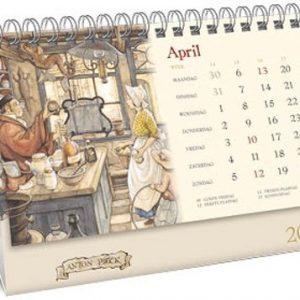 Desk kalender 2020 Anton Pieck (21 x 14)