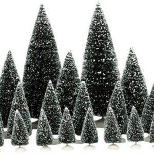 Luville - Dennenbomen set 21 stuks