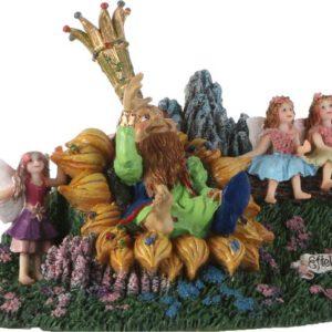 Efteling Oberon met elfjes
