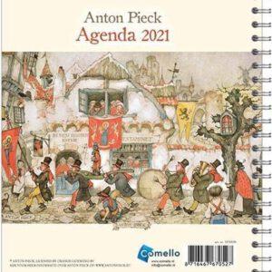 Anton Pieck bureau- agenda Fanfare