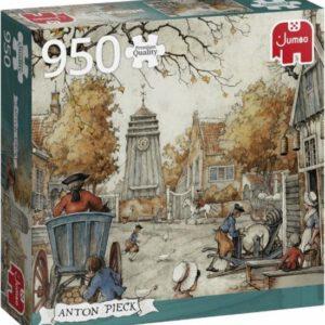 Jumbo Premium Collection Puzzel Anton Pieck Het Dorpsplein - Legpuzzel - 950 stukjes