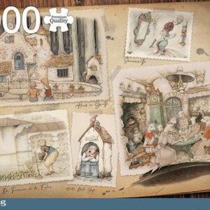 Jumbo Premium Collection Puzzel Anton Pieck Efteling - Legpuzzel - 1000 stukjes
