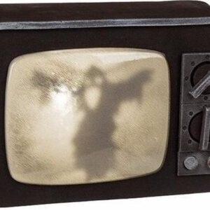 Halloween - Horror TV decoratie met licht en geluid