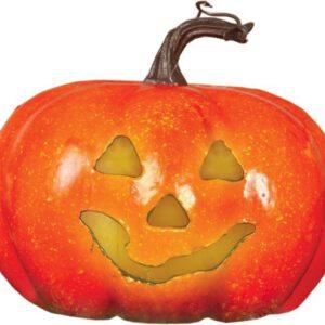 Halloween Pompoen met Licht 11cm