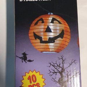 Halloween Party Verlichting 375CM Pompoen 10 Stuks Mini